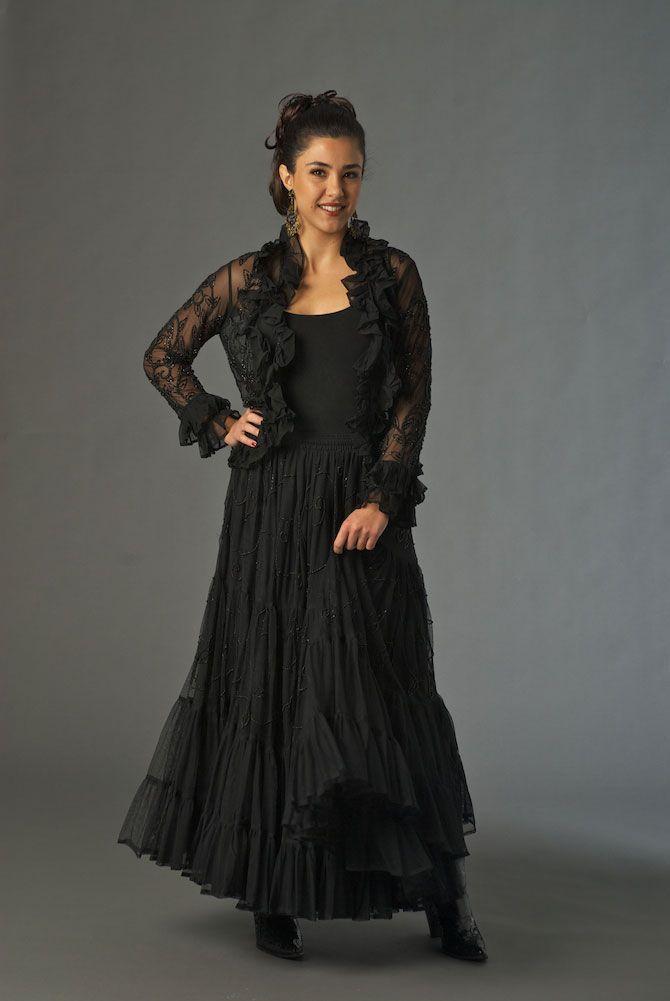 Black Tie Outfit Western Wear Women Western Clothing