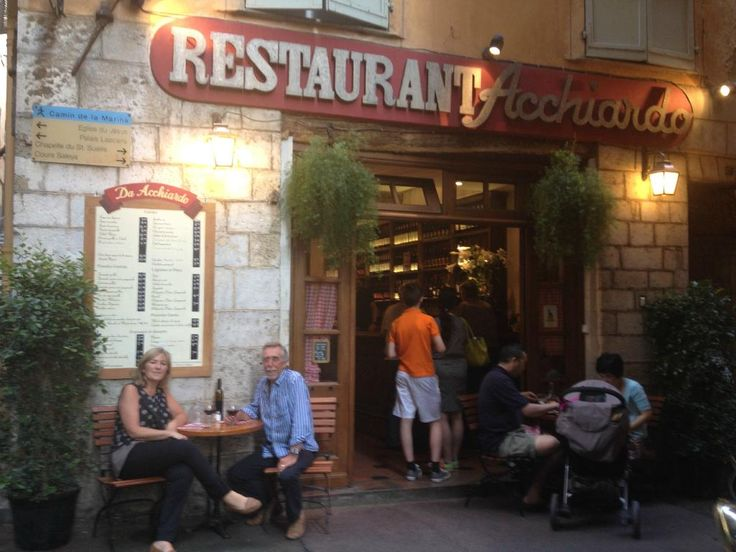 Chez Acchiardo, Nice - Restaurant Avis, Numéro de Téléphone & Photos - TripAdvisor