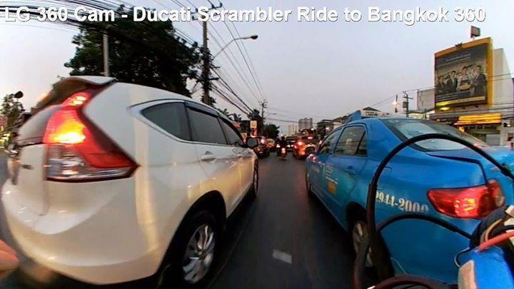 LG 360 Cam - Ducati Scrambler Ride to Bangkok 360 : Liked on YouTube http://flic.kr/p/S985wA
