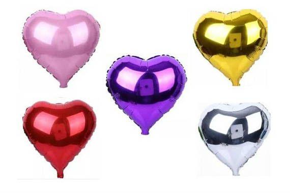 Love Heart Foil Balloons 18 Helium  Wedding /