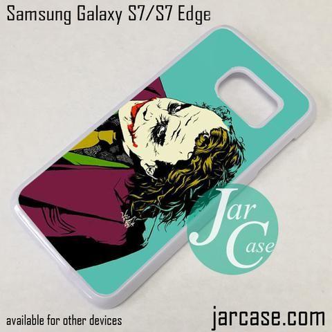 The Joker Comic 2 Phone Case for Samsung Galaxy S7 & S7 Edge