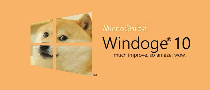 wow such compute Windoge 10