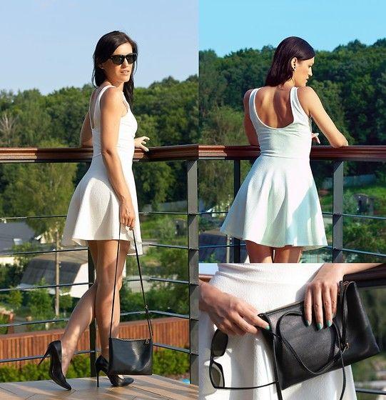 My little white dress #fashionblog #milapopovichblog #myoutfit #style