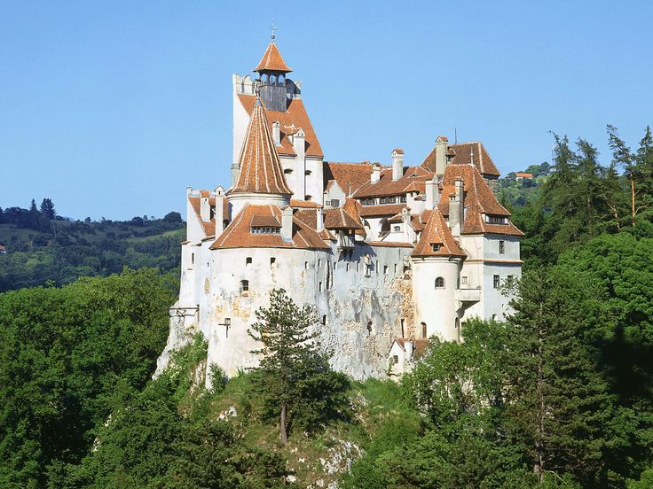 Bran Castle, the so-called Dracula's castle.