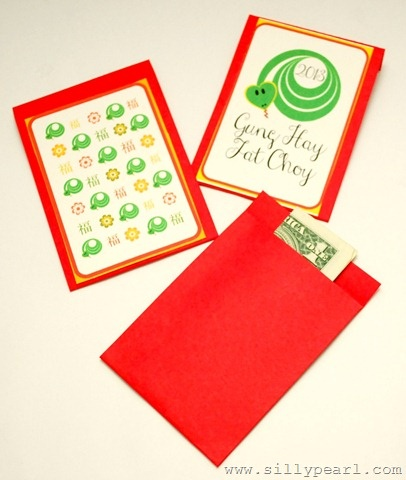 Year of the Snake Red Envelopes - The Silly Pearl