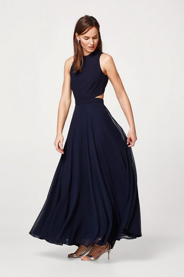 6bceb2a3b41528 Esprit Collection Chiffon-Kleid mit Print und Gürtel | Fashion (latest) |  Maxi kleider, Chiffon og Chiffon kleid