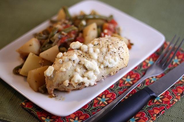 Easy Greek Chicken Casserole | Recipe