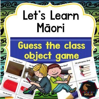 Help your tamariki learn the Maori names of classroom items. A great activity for junior and pre-school children.Children match the picture of a 'close up' of an classroom item to the full picture.  There are 10 sets. rkau ine - rulerpene hinu - crayonpene rkau - pencilpukapuka - bookpene whtau - felt penhpiapia - gluetpu - tablepine - pinpeita - paintparaehe peita - paint brushKey vocabulary is included so children learn the names of items in Maori too.