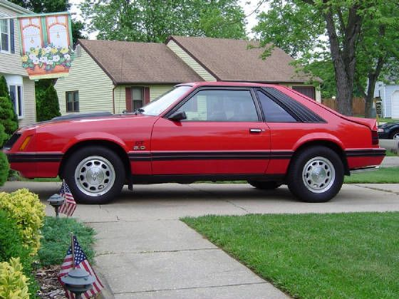 1983 ford mustang mine wasn 39 t a gt but it was my first. Black Bedroom Furniture Sets. Home Design Ideas