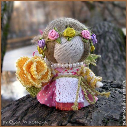 Народные куклы ручной работы. Ярмарка Мастеров - ручная работа Долюшка. Handmade.