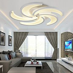 8w Contemporain / Traditionnel/Classique LED Peintures LustreSalle de séjour / Chambre à coucher / Salle à manger / Cuisine /