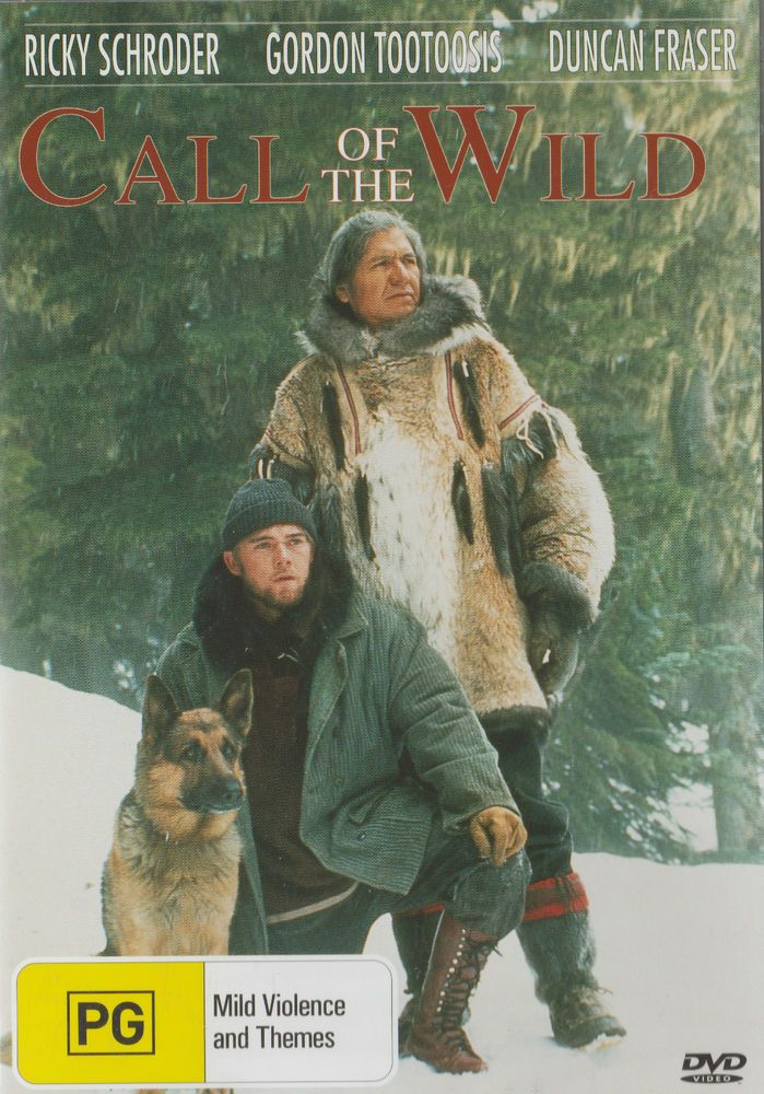 CALL OF THE WILD DVD