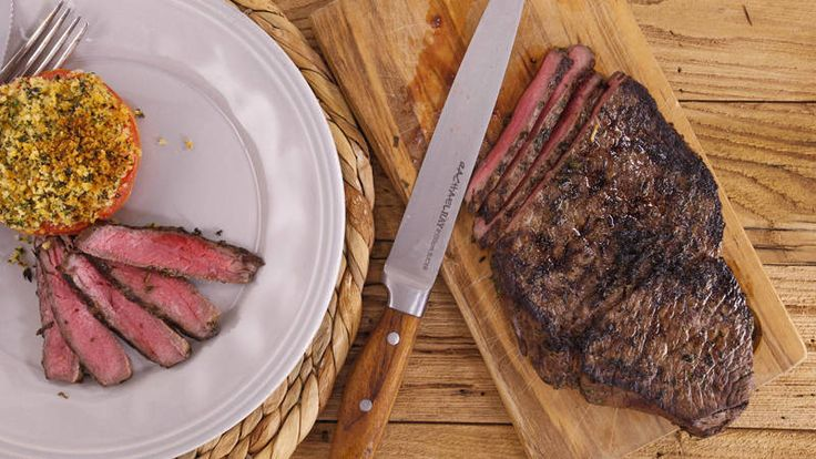 Garlic-Herb Marinated London Broil Recipe