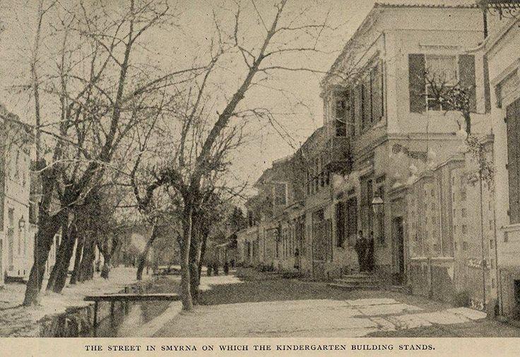 1839 Bridge in Izmir on which the Kindergarten stands