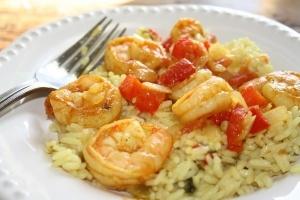 Easy Shrimp Paella