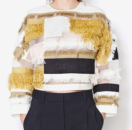 31 Phillip Lim Patchwork dolman top