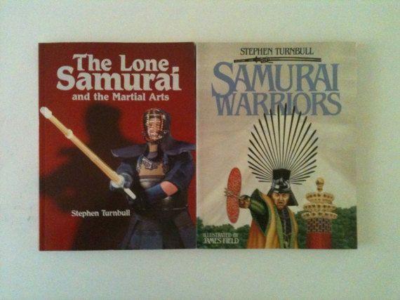 2 Samurai Books vintage Samurai Warriors The by MysteryTripVintage