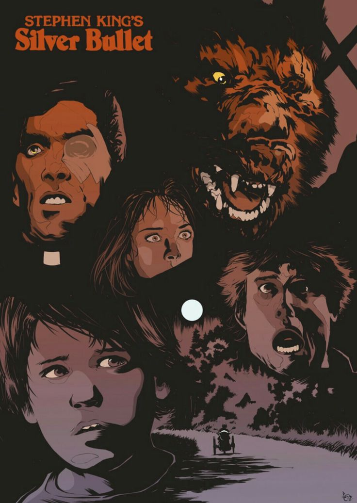 Silver Bullet Horror Movie.  Fun stuff with good old Gary Bucey.