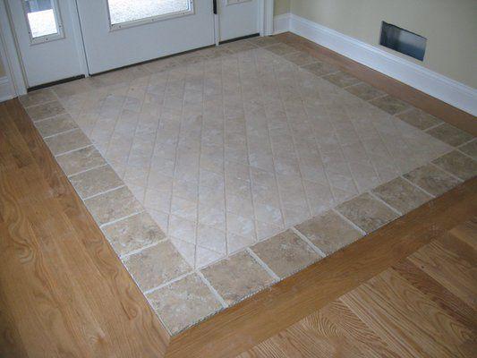 Custom Tile Inlay in Entrance  Tile FlooringFlooring IdeasTile  40 best Tile ideas images on Pinterest   Tile ideas  Flooring  . Entrance Floor Tiles Design Images. Home Design Ideas
