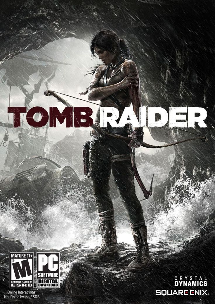 Купить постер Tomb Raider - Lara Croft #10867 — Plaqat.ru