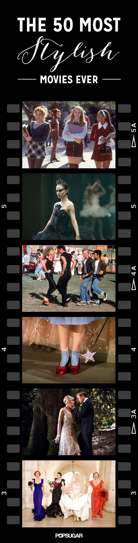 Lights, Camera, Fashion: The 50 Most Stylish Movies Ever
