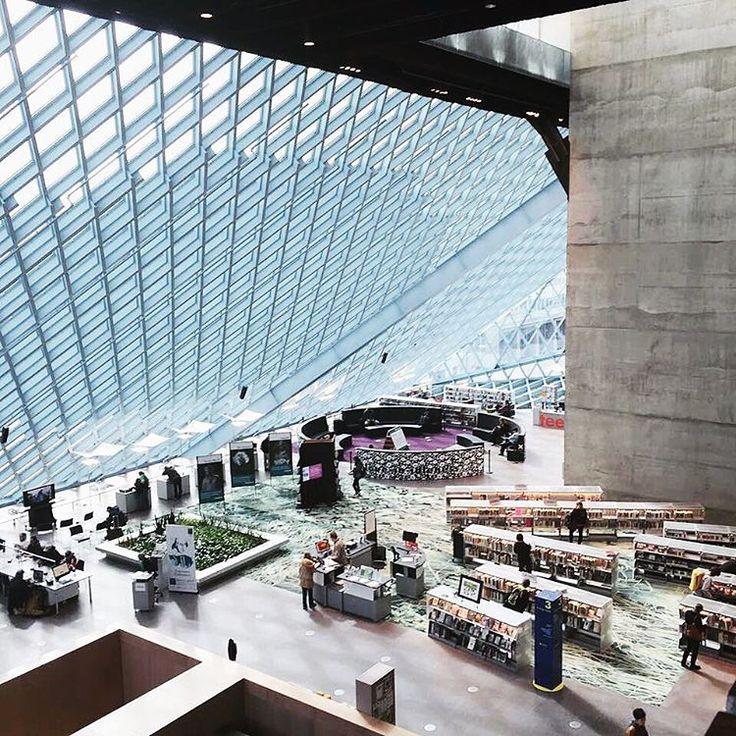 Seattle Public Library, Seattle, Washington | http://writersrelief.com