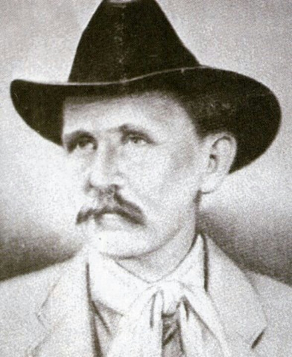 Johnse Hatfield, son of Devil Anse Hatfield, who took up with Roseanna McCoy and they had a baby girl.