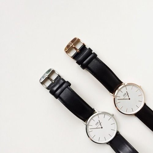 MINIMAL + CLASSIC: 1 gold, 1 silver DW watch