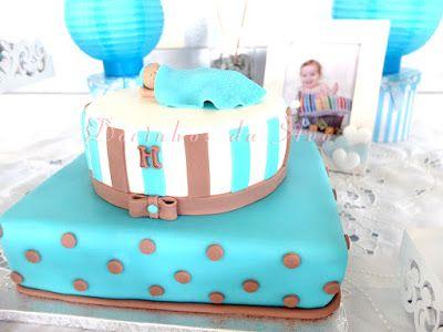 Docinhos da Avó - Cake and Party Design: Batizado Menino