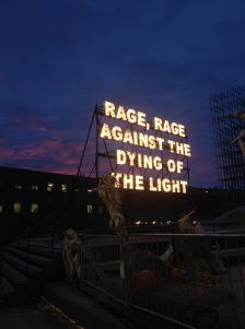 Rage, Rage Against the Dying of the Light by Sarah Beck