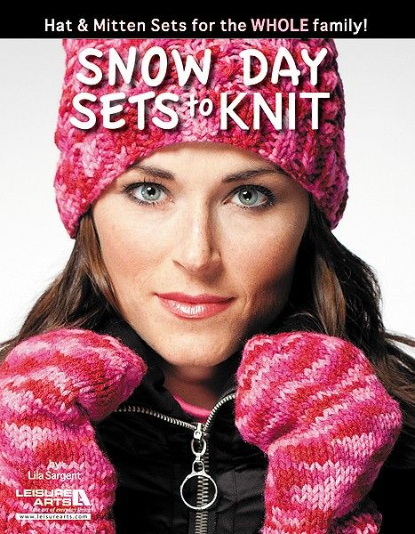 Leisure Arts 5596 Snow Day Sets toKnit