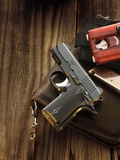 #Kimber America | Micro Carry Pistols.......might be good to keep one in the house