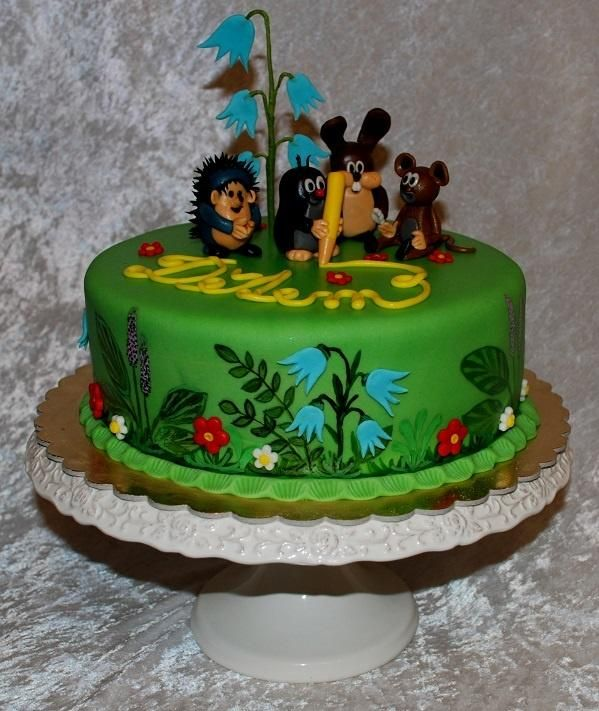 Little mole and friends - Cake by Marie
