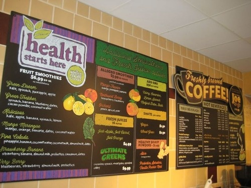 Smoothie/Juice Bar Menu by Chris | Palm Beach Gardens, FL