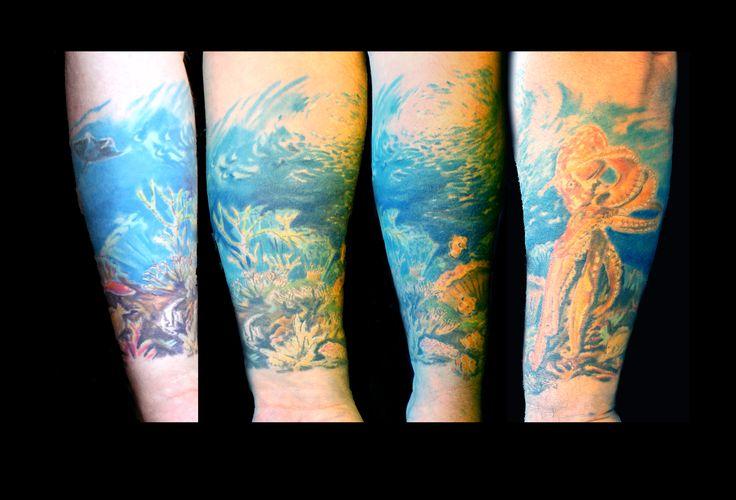 #tetoválás #szolnok #pinterart #pigmentplanettattoo #tattoo #vízivilág