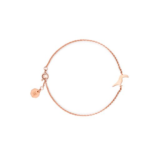 TOUCAN BRACELET ROSE GOLD | Flor Amazona