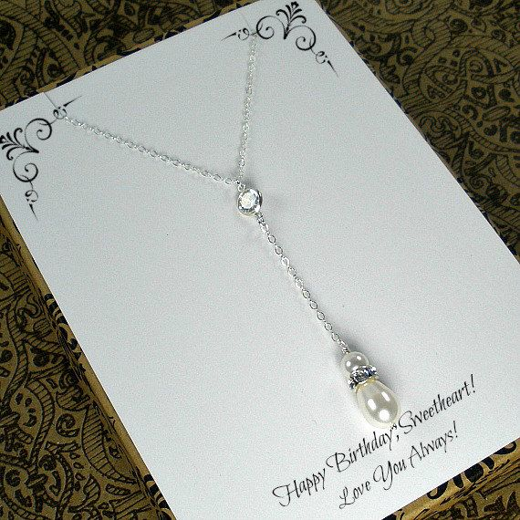 Birthday Gift for Her! Great #gift idea for #wife or #girlfriend by StarringYouJewelry #etsy