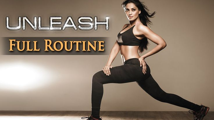 30 Mins Indoor Aerobic Workout - Bipasha Basu Unleash Full Routine - Ful...