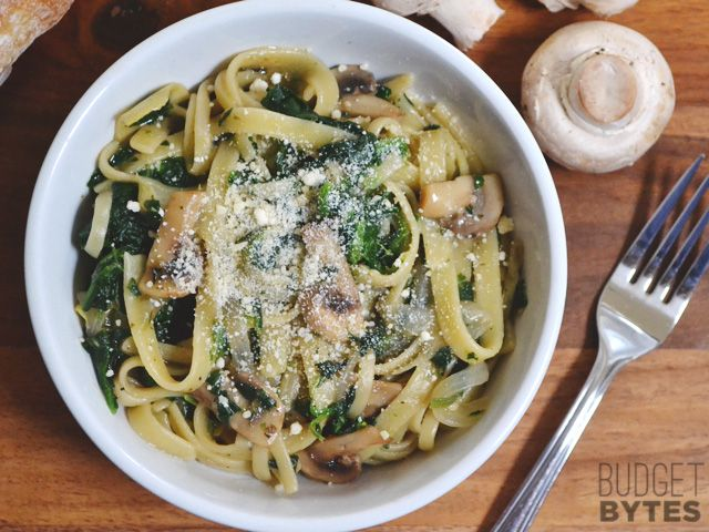 Spinach & Artichoke One Pot Wonder- this is tasty, especially topped with Parmesan. Add salt