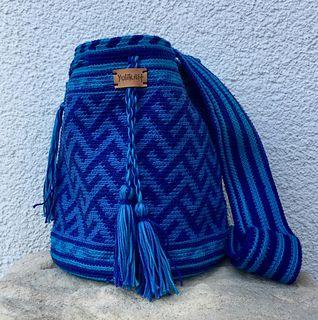 Ravelry: Mochila - Blue pattern by Yulika Schreiber