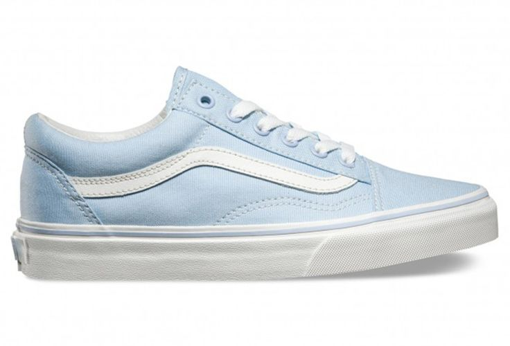 VANS Paire de Chaussures Femme OLD SKOOL Bleu Blanc | Alltricks.fr