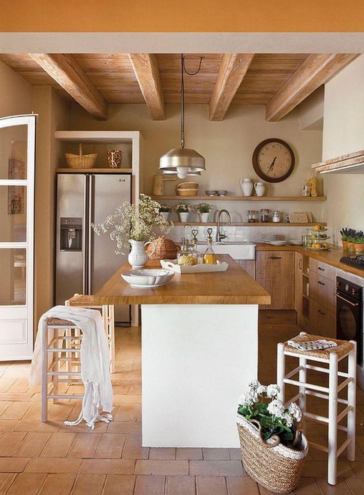 adelaparvu.com casa cu aspect de ferma veche, casa Spania, arhitectura si design interior Lizaturry Tuneu, Foto ElMueble (14)