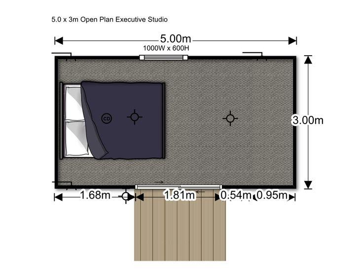 House Me :: Open Plan Executive Studio