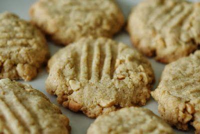 kivi: Sušenky z arašídového másla