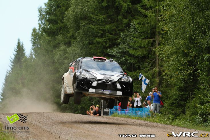 2011 Finland: Kimi Raikkonen, Citroen DS3 WRC, 9th