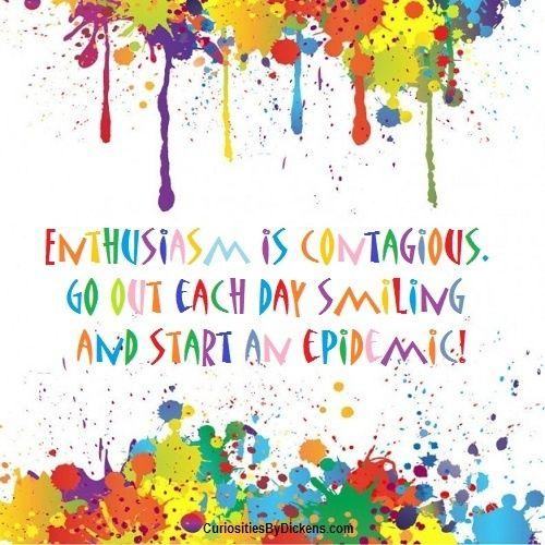 Jouw energie en positieve houding werkt aanstekelijk; maak er gebruik van...
