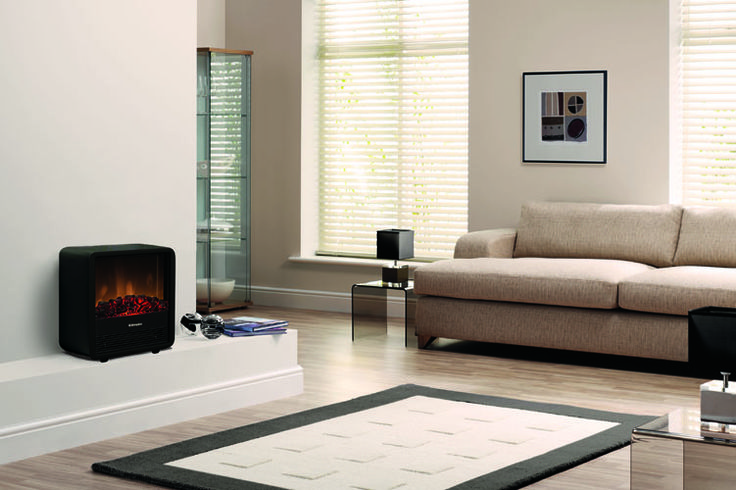 Our Cube is an eye-catching fire that will liven up any room with its clean lines and rounded edges. Showcase the Optiflame log effect in this 2kW electric heater.
