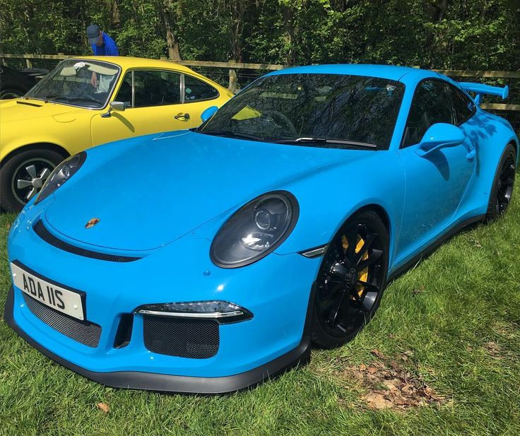 Great colour Porsche 911 GT3 at Cars In The Park