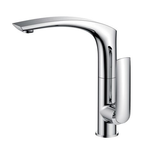 $129.99 Kitchen Faucets Single Handle Kitchen Faucet. Arraying Compelling  Design With Beautiful Modern Forms,