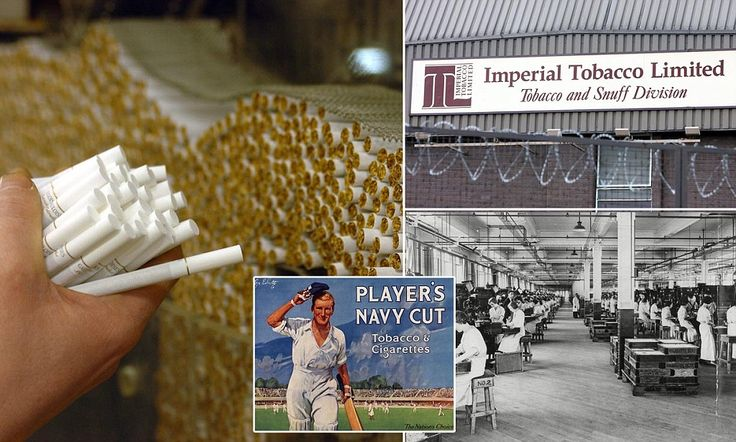 Stubbed out: Nottingham factory shutdown marks last gasp of once thriving British tobacco industry which gave us cigarette girls, cards and ...